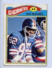 "Ray Rhodes 1977 Topps Mexican Football #98 Super Rare ""Dirty Dozen"" Huge SSP"