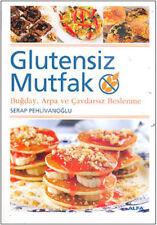 """ GLUTENSIZ MUTFAK-Serap Pehlinavoglu "" Turkce Kitap 2010 Registered Mail"