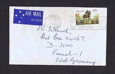 1986 90c Horses on 1986 cover to West Germany TS760