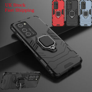 Hybrid Shockproof Armor Case Stand Cover For Huawei P20 P30 Mate 20 Lite P40 Pro