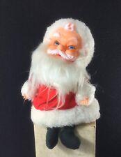 "VINTAGE 1960'S JAPAN WIND UP MUSICAL MOTION SANTA CLAUS CHRISTMAS 7 1/2"" FIGURE"