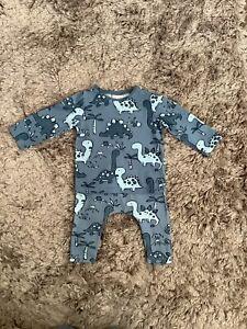 NEXT BABY BOYS 3-6 MONTHS DINOSAUR TOP LEGGINGS SET, OUTFIT BUNDLE