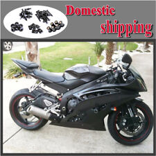 Fit for 2008-2015 Yamaha YZF R6 Fairing Injection Matte Red Black Plastic b57