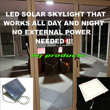 SOLAR SKYLIGHT FOR DAY AND NIGHT USE 30W (SQUARE) 300 MM 3.2 AH LITHIUM BATTERY