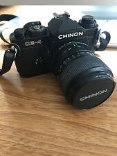CHINON CE 4 Film Caméra et Chinon Lens 28 - 70 mm