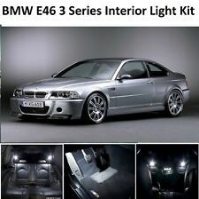 PREMIUM BMW E46 3 SERIES SALOON COUPE LED INTERIOR UPGRADE KIT SET XENON WHITE