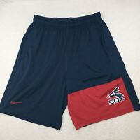 Nike Chicago White Sox Men's Large Blue Cooperstown Athletic Basketball Shorts