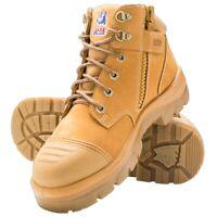 Steel Blue Parkes Zip Scuff Cap Boot - RRP 179.99 - FREE POST