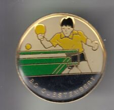 Rare pins pin's... sport table tennis ping pong club team questembert 56 ~ cz