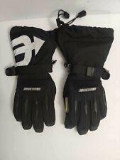 Arctiva Women's Snow Gloves Snowmobile Waterproof XS Black Insulated Windproof