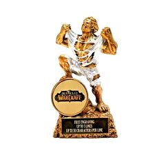 World Of Warcraft Victory Monster Trophy- Free Engraving