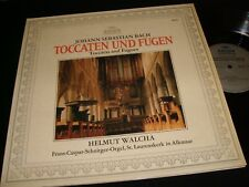 BACH°TOCCATAS AND FUGUES<>HELMUT WALCHA<>Lp VINYL~Germany Pressing~ARCHIV 198304