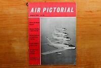 Vtg Original Air Pictorial Magazine 1959 August Tipsy Nipper Flight Test