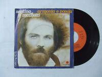 "Santino Rocchetti – Armonia E Poesia-Disco Vinile 45 Giri 7"" Stampa ITALIA 1978"