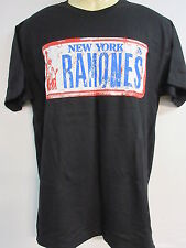 NEW - RAMONES NEW YORK LICENSE BAND / CONCERT / MUSIC T-SHIRT EXTRA LARGE