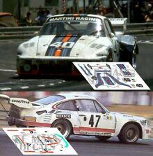 Decals Porsche 935 Le Mans 1976 40 47 1:32 1:43 1:24 1:18 slot Kremer calcas