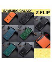 COVER per Samsung Galaxy Z FLIP GUSCIO CUSTODIA PELLE