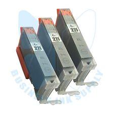 3 Gray CLI-271XL Ink for Canon Printer PIXMA MG5720 MG6820 MG5721 MG6821 MG7720