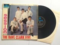 The Dave Clark Five – Session With The Dave Clark Vinyl LP RARE 1964 UK 1st Ed.
