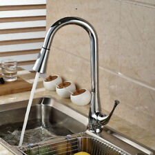 Unbranded Brass Pull-out Kitchen Taps