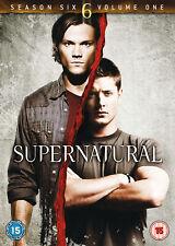 Supernatural - Season 6 Part 1 [2011] (DVD) Jared Padalecki, Jensen Ackles