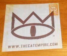 The Cat Empire Sticker Original Promo (square) 4x4