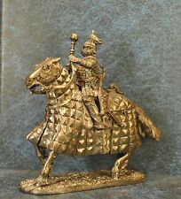 Tin Soldiers * Cavalry figure * Golden Horde warlord, XIV century. * 54 mm