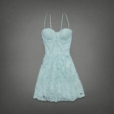 Abercrombie & Fitch Drew Lace Dress in Mint Size-Medium