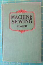 Machine Sewing Singer Vintage Book 1928.