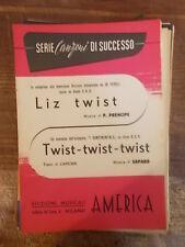 """SPARTITO FEDELI """"LIZ TIWST"""" I CONTINENTALS """"TWIST TWIST TWIST"""""""