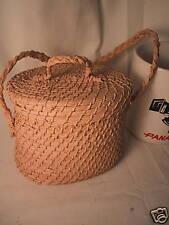Mayan (Quiche) Purse Basket Punta Gorda Belize 1992