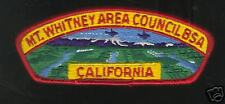 MINT CSP Mount Whitney Area Council S-3