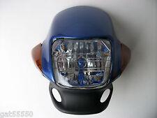 Blue Motorcycle Headlight Suzuki Honda DT GT GY SR CG CB GSF GSX CBF LEMOTO 125