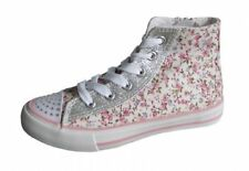 Canvas Floral Boots for Women