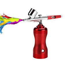 Airbrush Kit Air Compressor Dual Action Cordless Spray Gun Handheld Multipurpose