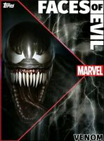 Venom Faces Of Evil FOE Motion Super Rare Topps Marvel Collect Digital Card