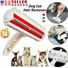 US Pet Hair Remover Reusable Dog Cat Fur Roller Sofa Clothes Lint Cleaning Brush