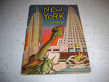 1938 NEW YORK ILLUSTRATED SOFTCOVER BOOK NO. 20 J 1397