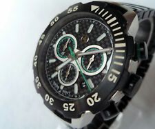 Mercedes Benz AMG Motorsport Racing Carbon Car Accessory Swiss Chronograph Watch