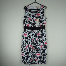 Uttam Boutique Dress Size 8 (Floral/Pattern/Smart/Casual/Summer/Women/Holiday)