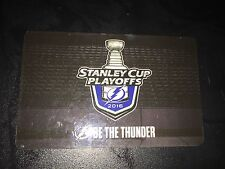 2016 NHL STANLEY CUP FINALS TAMPA BAY LIGHTNING OFFICIAL Season Ticket Card