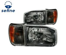 Anzo Headlight Assembly-Crystal Set For 1999-2004 Nissan Pathfinder / 111051