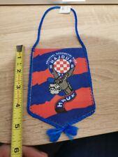 Croatia Hrvatska Hnk Hajduk Torcida soccer football Mini Pennant Flag, New