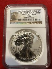 2012 S Eagle Reverse Proof NGC PF70 ER