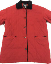 BROMLEY SPORT Quilted Insualted Thermolite Jacket Red Women's Size S