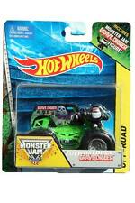 2014 Hot Wheels Monster Jam Grave Digger with Monster jam Figure