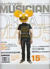 DEADMAU5 ELECTRONIC MUSICIAN MAGAZINE JANUARY 2013