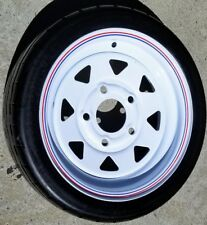 1 Tire Amerityre 4.80-12 Golf Cart Trailer Tire Solid Flat Free Tire Industrial