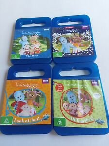 In the night garden dvds x 4 pieces region 4 over 8 hours of entertainment