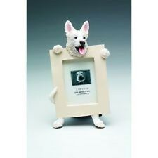 german shepherd  white     picture frame    15-75w